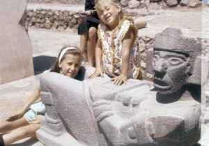 Debbie Irwin Voiceover My sister, Linda, and I (age 4) when we were in Mexico.