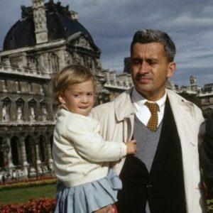 Debbie Irwin Voiceover My dad and I (age 2) when we were in Paris.
