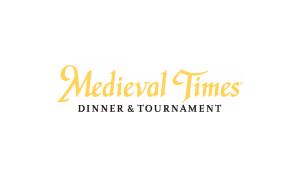 Debbie Irwin Voiceover Medieval times logo